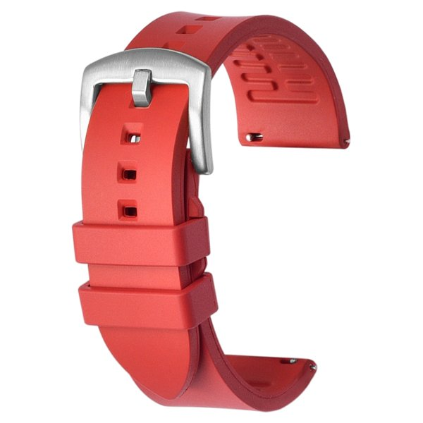 racing watch strap rubber straps