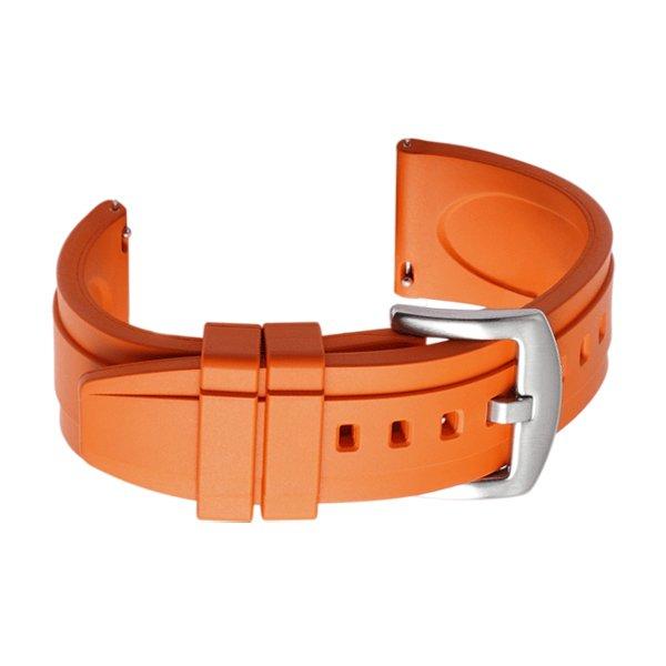 dive watch strap orange