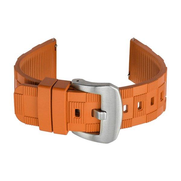rubber waterproof watch strap