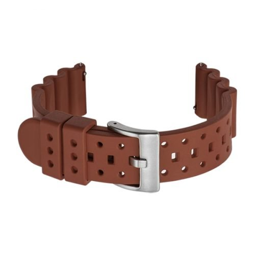 dive watch bands rubber strap