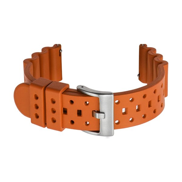 rubber dive watch band